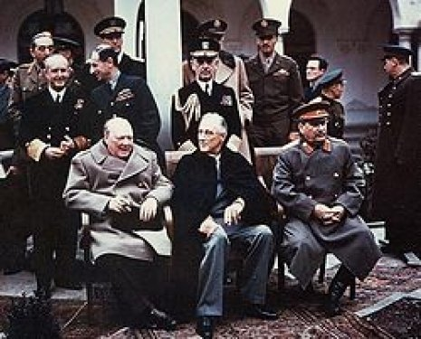 Stalin, Churchill și Roosevelt 1